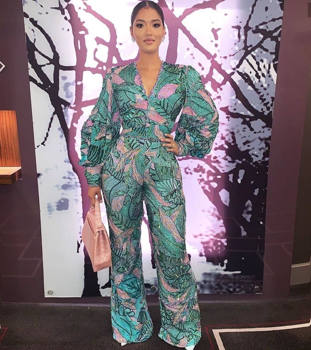 Hot African Print Jumpsuits For ladies  #nigeriandressstyles #nigeriandressstyles