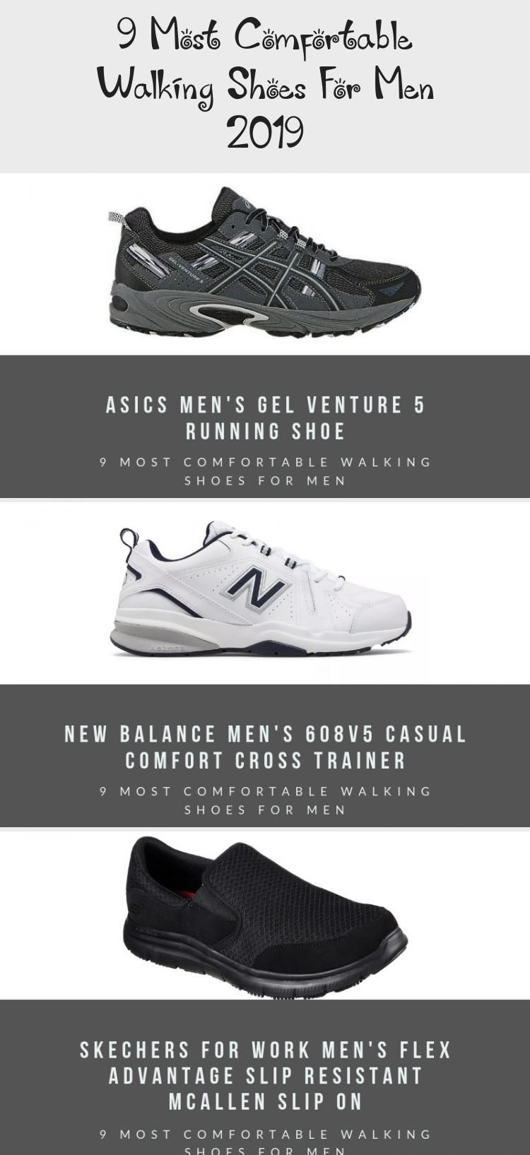 9 Most Comfortable Walking Shoes For Men 2019 | Mens walking