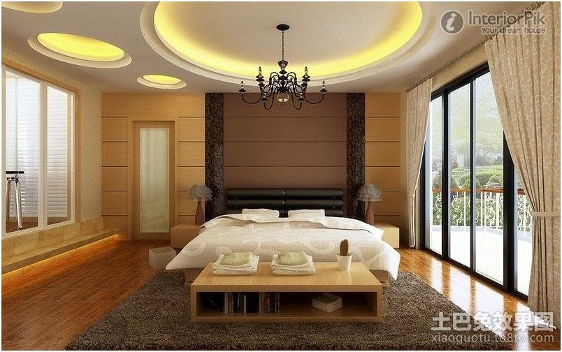 False ceiling design for master bedroom interior for Interior design bedroom ideas 2018