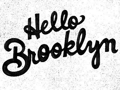 Hello Brooklyn By Andrew Harrington