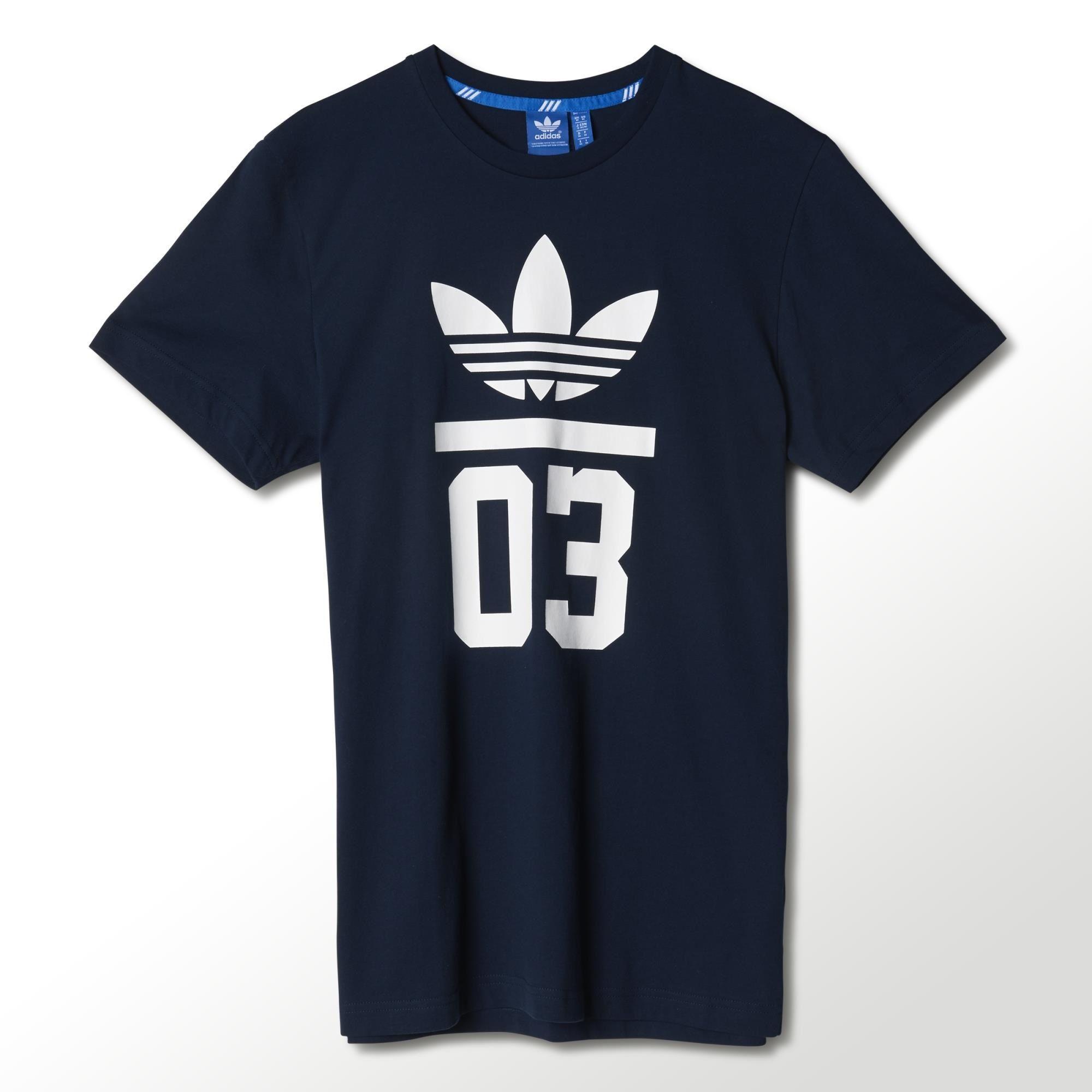 Camiseta deportiva para hombre Adidas Three Stripes