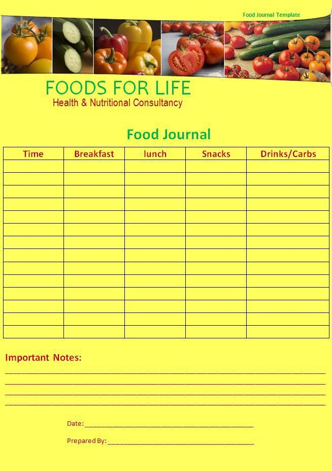 Pin by Sara_Seeta on My work Pinterest Journal - food journal templates