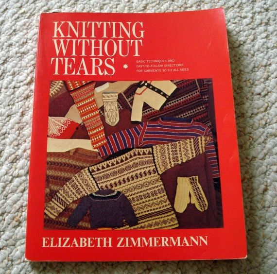 Knitting Without Tears by Elizabeth Zimmermann by LoveNYarn, $15.00