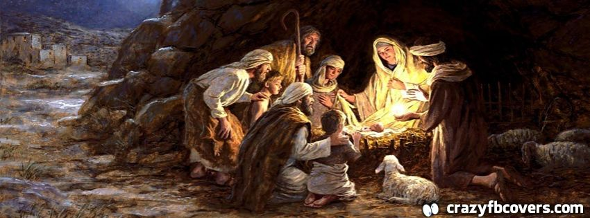 Nativity Baby Jesus Christmas Facebook Cover Facebook Timeline Cover
