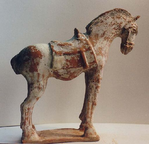 Ancient Chinese terracotta horse