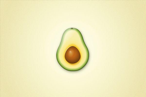 Картинки маленького авокадо