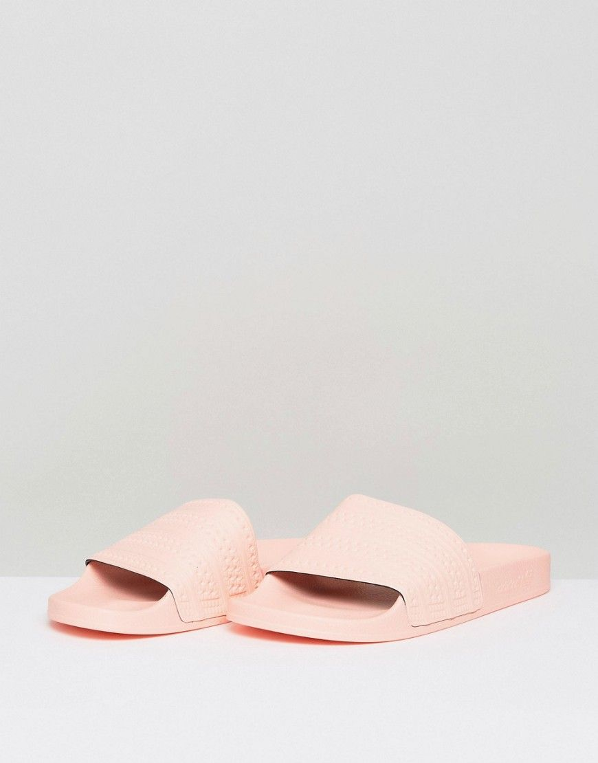 9e910e4dbe805 adidas Originals Adilette Slides In Pink BA7538 - Pink