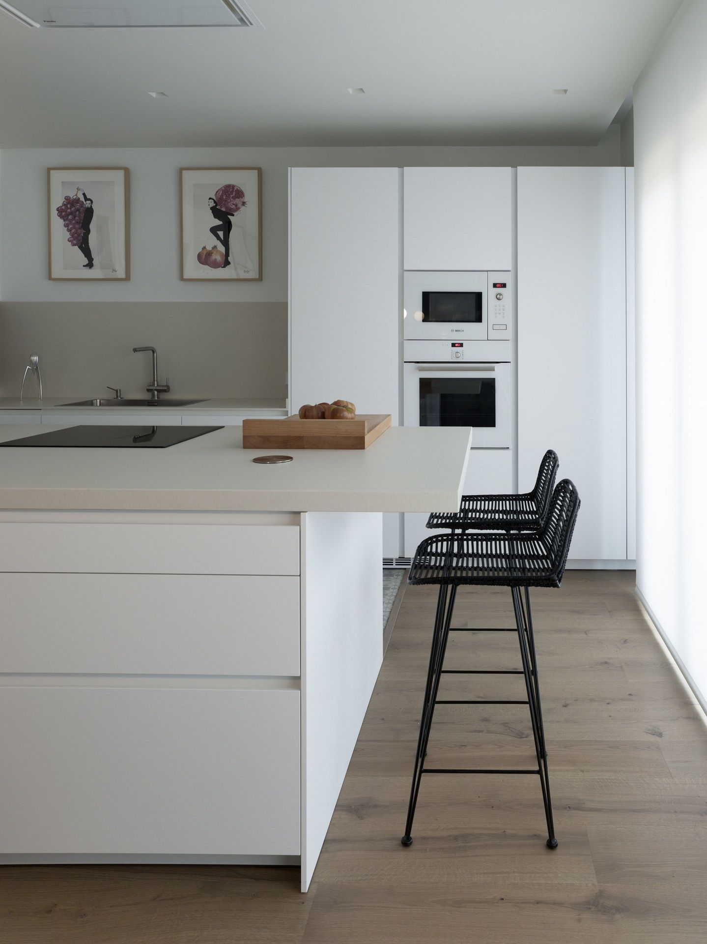 Santos Kitchen El Equilibrio La Funcionalidad Y La Coherencia