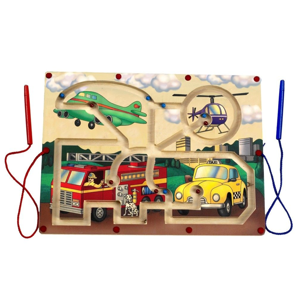 Magnetic Transportation Maze - Made in the USA. Promote ...