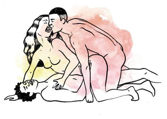 hardest-threesome-posit-strap