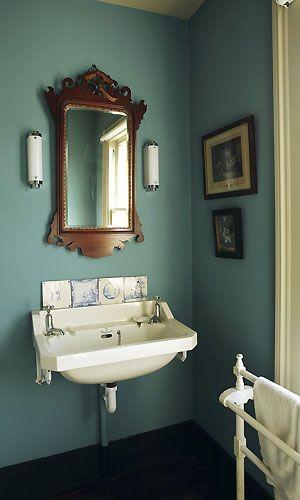 Ooooh I Want A Bathroom This Colour Bathroom Decor Bathroom Paint Colors Painting Bathroom