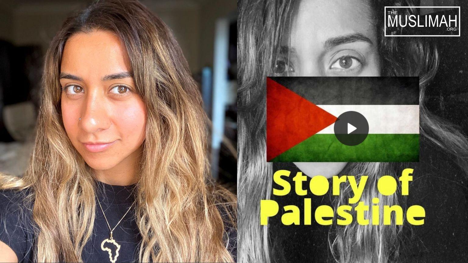Eman Askar Sings 🎵 Story of Palestine 🇵🇸