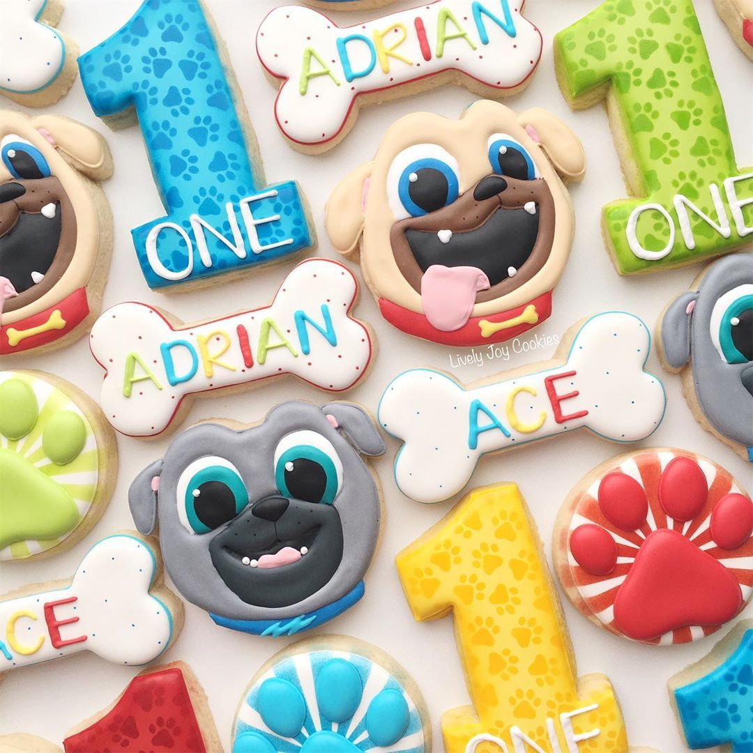 Airbrushed Dog Cookies Homemade Dog Cookies Dog Biscuits
