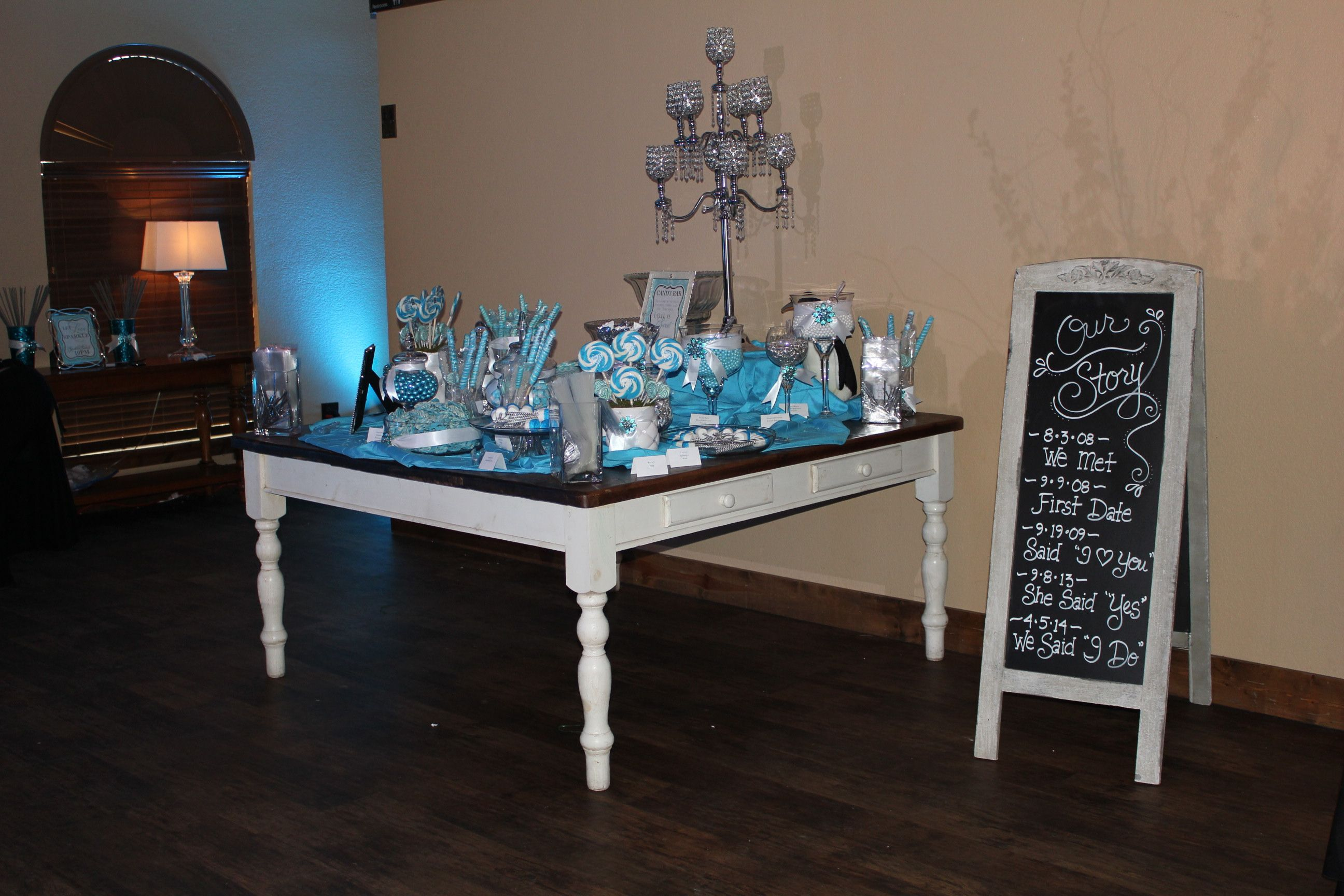 Wedding decorations rental  Candy Bar Set up  Rental Items  Pinterest  Weddings