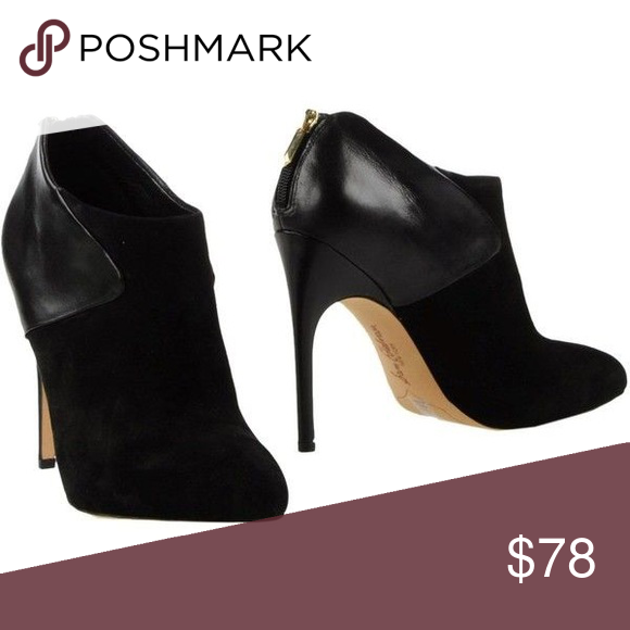 566d8773d Sam Edelman Ankle Boots Sam Edelman leather and suede ankle boots in black.  These are