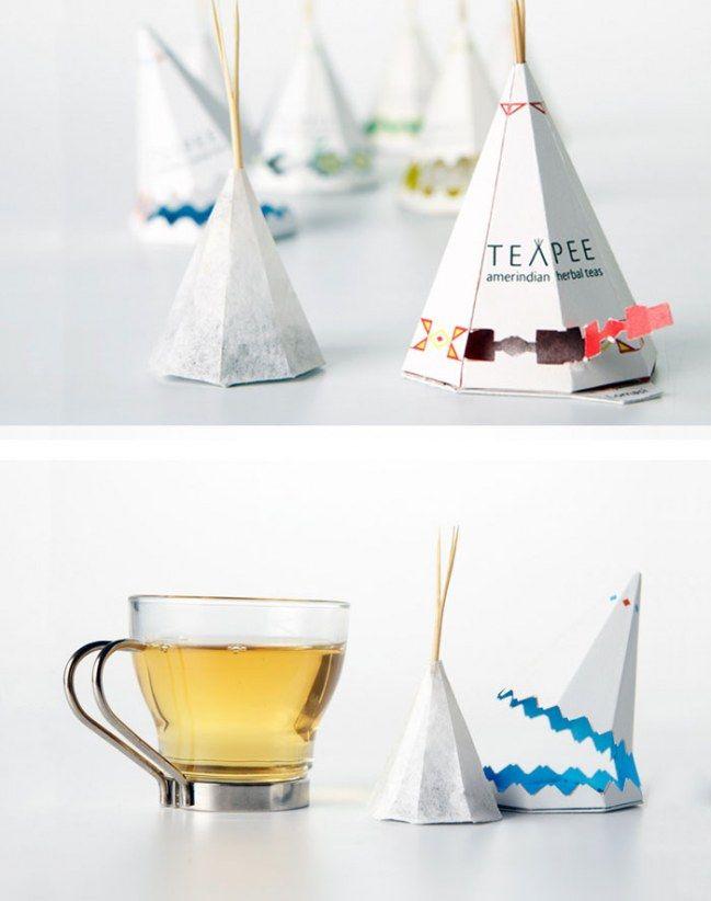 9938aba16 Si te gusta cuidar hasta el último detalle y además, eres una apasionada  del té, ver estas originales bolsitas de té va a hacerte realmente feliz.
