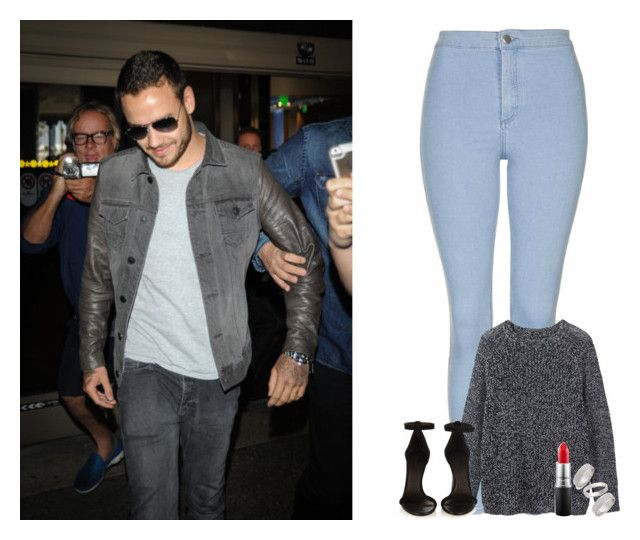 """""""Airport with Liam"""" by dj1direction ❤ liked on Polyvore featuring Topshop, Toast, Isabel Marant, MAC Cosmetics, women's clothing, women, female, woman, misses and juniors"""