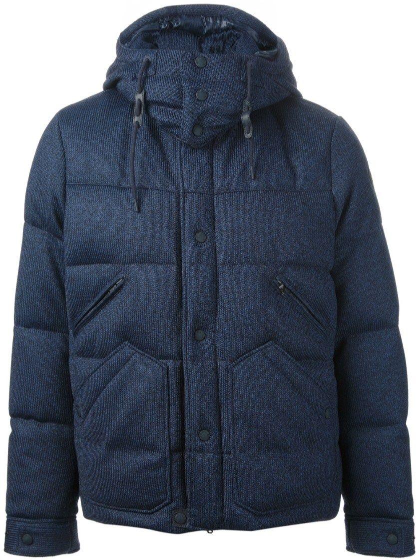 c338e57b3 denim effect padded jacket MONCLER W  alducadaosta  fw  fall  winter ...
