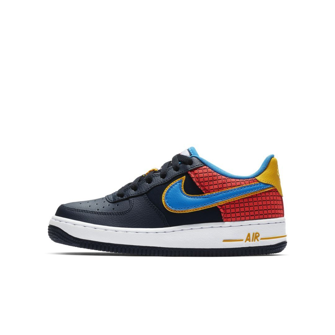 hot sales bf0df 13699 Nike Air Force 1 Now Big Kids  Shoe Size 5.5Y (Obsidian)