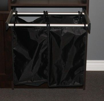 Closet Accessories-Pull Out Hamper - Closet Organizers - Other Metro - STOR-X Organizing Systems, Kelowna