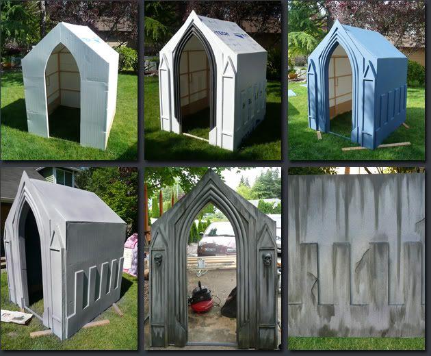 Prop Showcase Haunted Hollow Mausoleum Build
