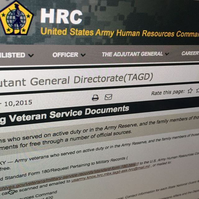 Service Free For Veterans Retirees And Family Members Who Request