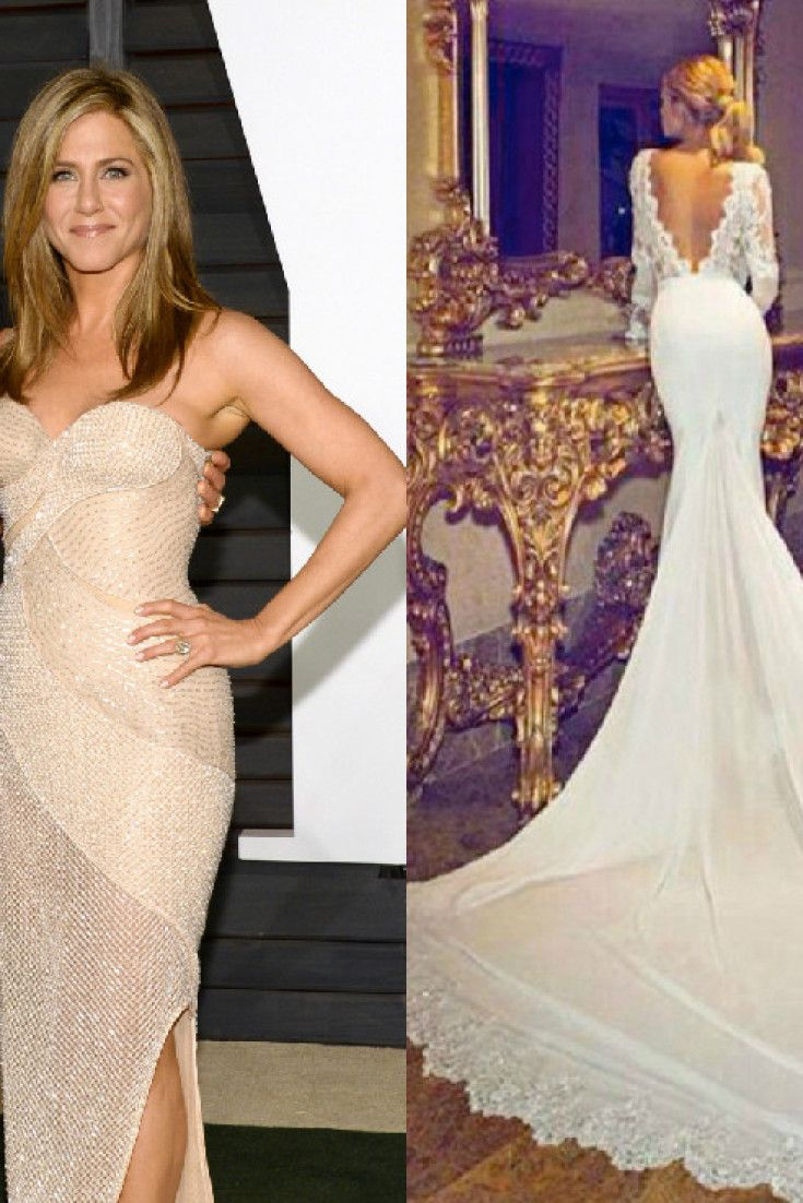 Definitive Proof This Is Not Jennifer Aniston\'s Wedding Dress | Here ...