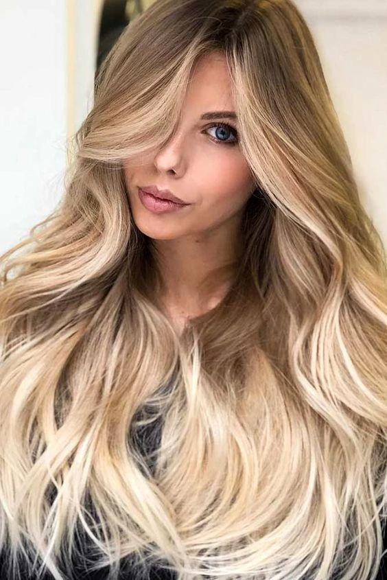 130 Dark Roots Ombre Ash Blonde 613 Colored Lace Front Human Hair