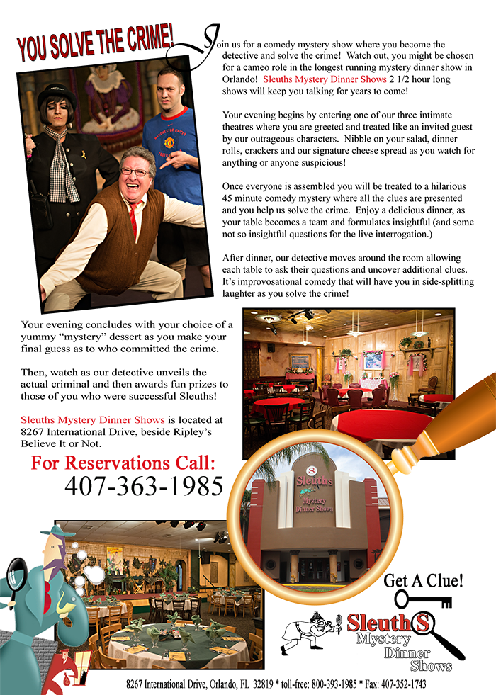 sleuths mystery dinner shows is a two and a half hour comedy murder rh pinterest com
