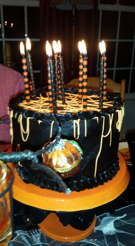To make a true black frosting start with chocolate frosting and ...