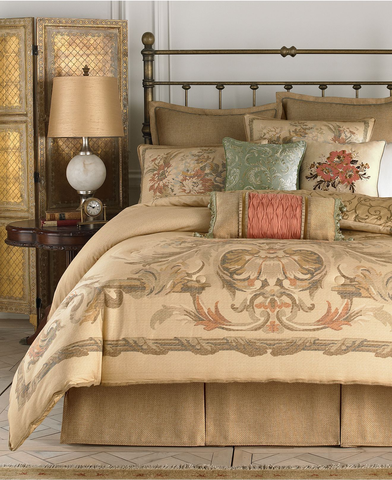 croscill normandy king comforter set bedding collections bed bath macys