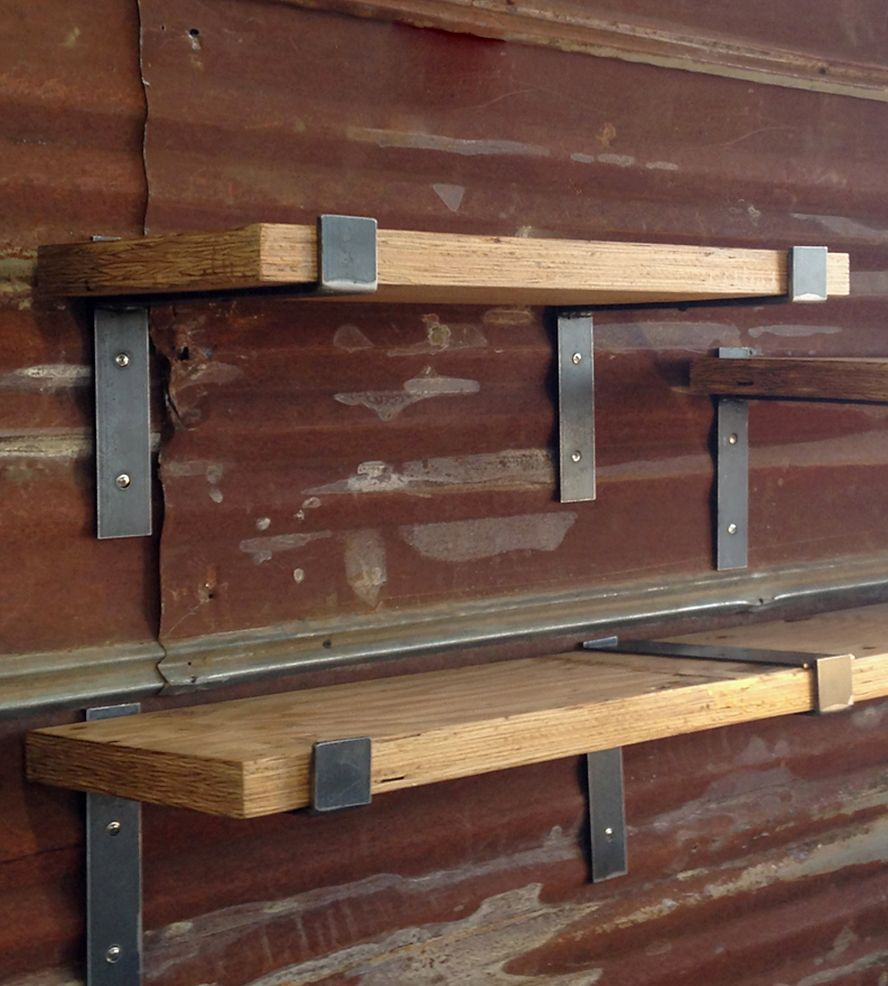 Steel & Maple Wall Shelf | Home Decor | lemay+rivenbark design lab |  Scoutmob