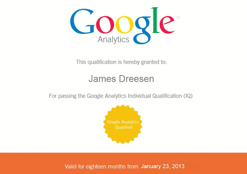 Google Analytics Certification Exam Cheat Sheet How I Passed