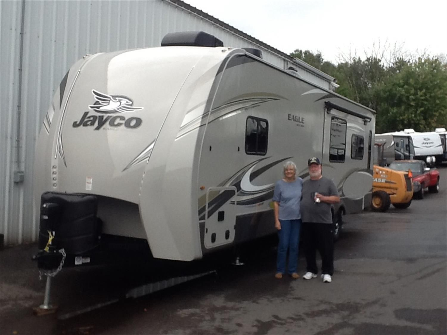 John And Sally We Hope That Your New 2020 Jayco Eagle Takes You On Amazing Journeys Near And Far Enjoy Your New Vehicle Recreational Vehicles Vehicles Jayco