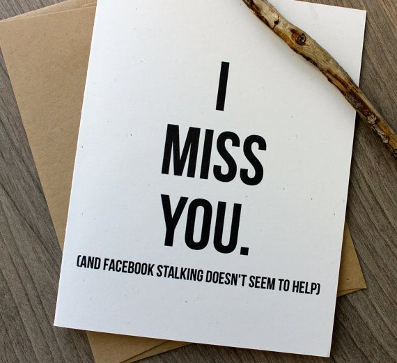 I miss you card funny i miss you card thinking of you facebook i miss you card funny i miss you card thinking by pattersonpaper m4hsunfo