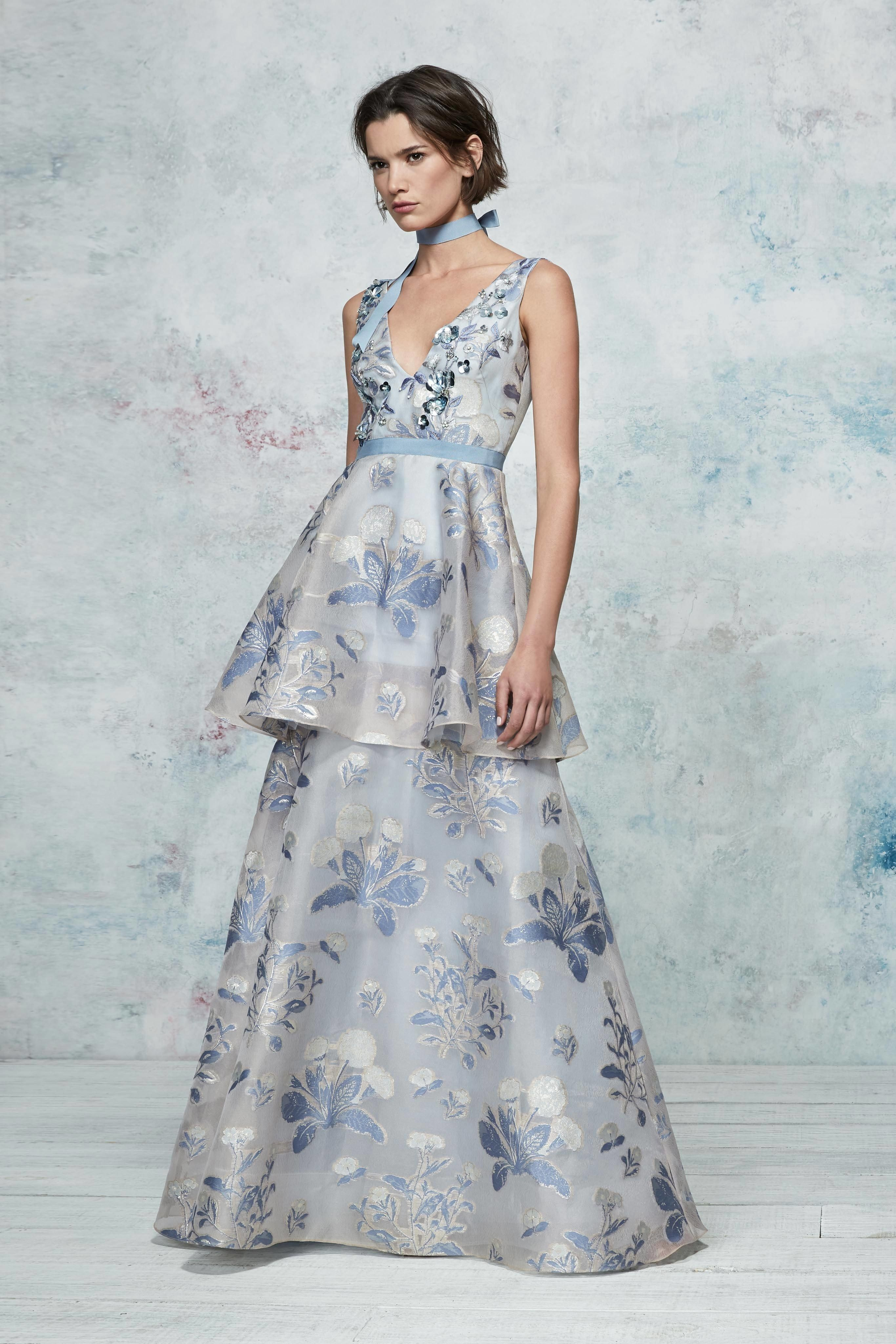 Marchesa Notte Resort 2019 Fashion Show en 2018 | look 2019 | Pinterest
