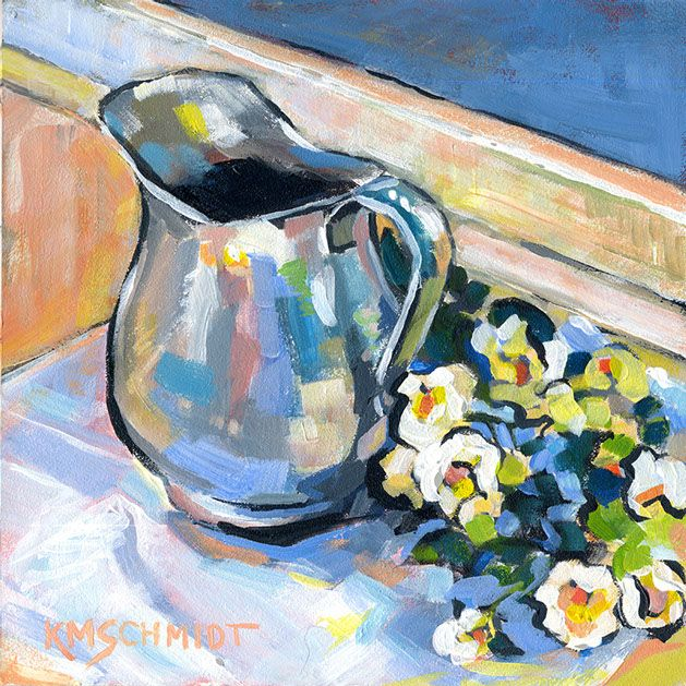 KMSchmidt Still Life paintings