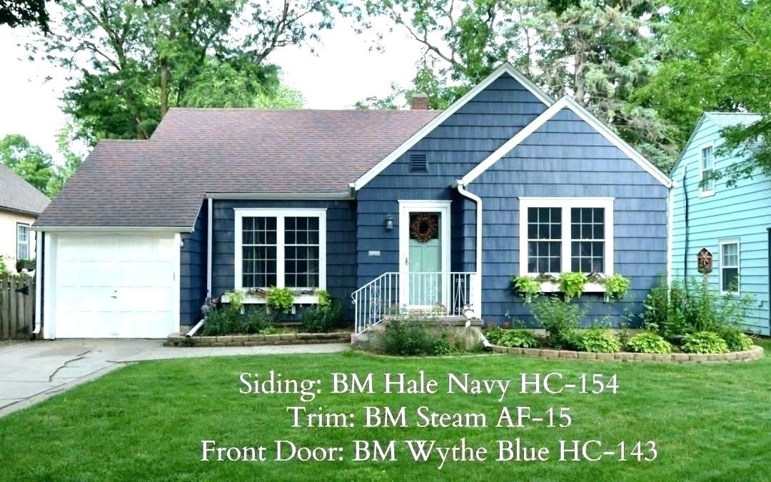 Blue House Exterior Colour Schemes Best Colour Combination For House Exterior Navy Blue House Wit House Paint Exterior Exterior House Color House Exterior Blue