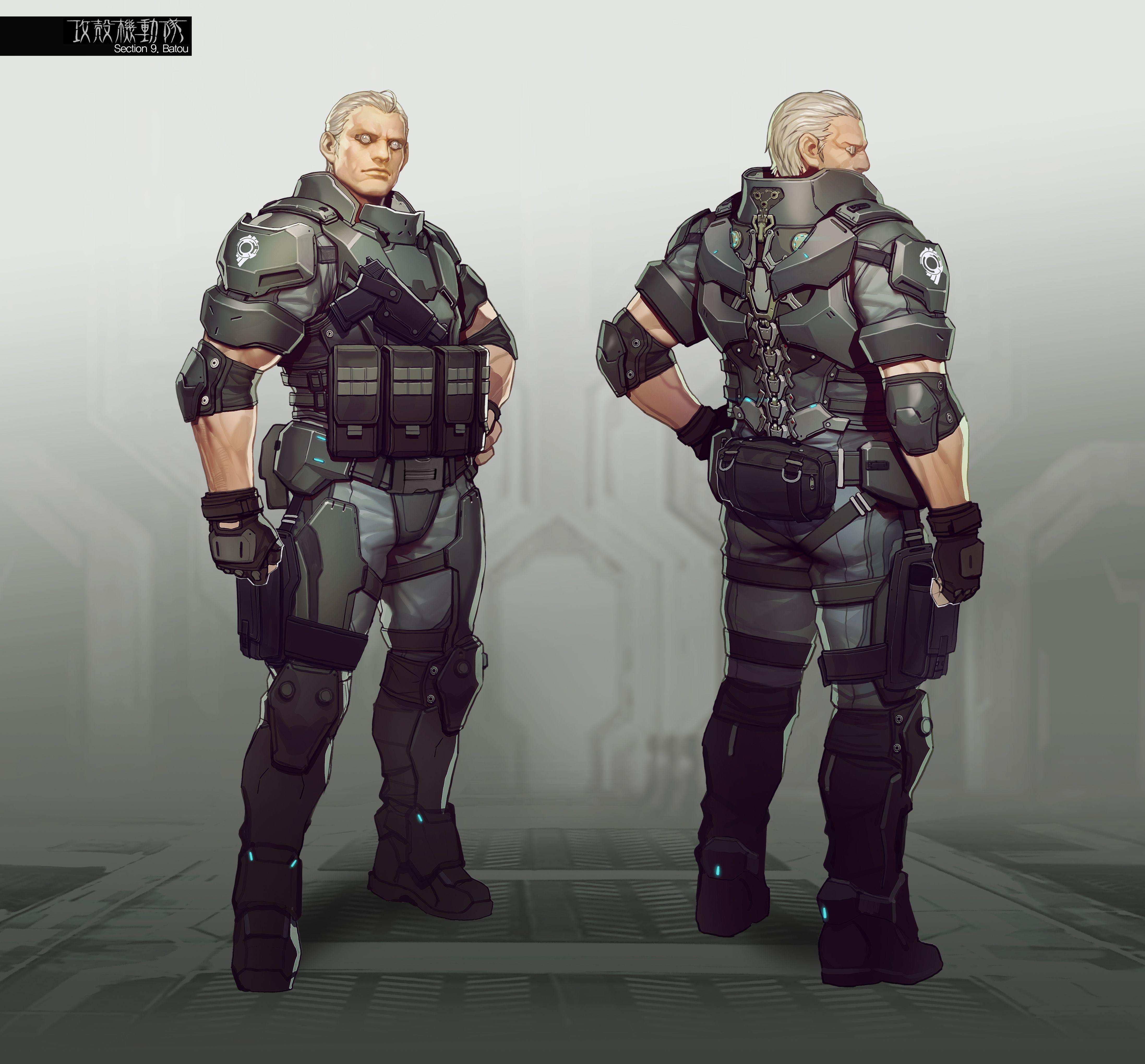 First Assault Character Concept Art Concept Art Characters Ghost In The Shell Character Concept