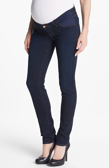 5360fcd538477 J Brand 'Rail' Skinny Maternity Jeans (Eminence) available at #Nordstrom.  It's important to feel good because you look good during pregnancy!