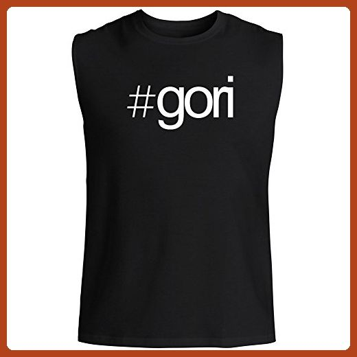 Idakoos - Hashtag Gori - Cities - Sleeveless T-Shirt - Cities countries flags shirts (*Partner-Link)