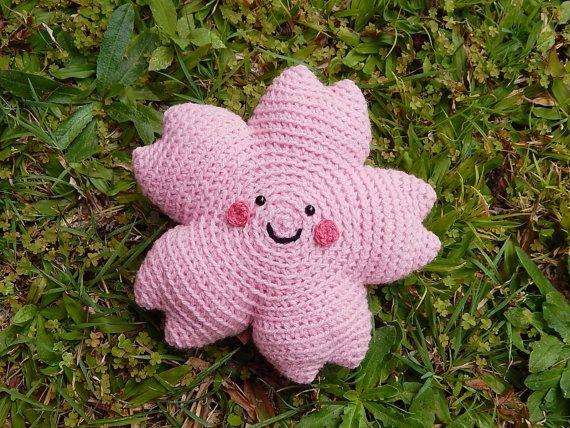 Amigurumi Crochet Pattern Sakura Cherry Blossom by PawPawsStudio ...