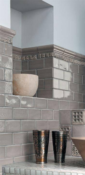 Ecru Led Glaze Subway Tile From Horus Art Carrelage