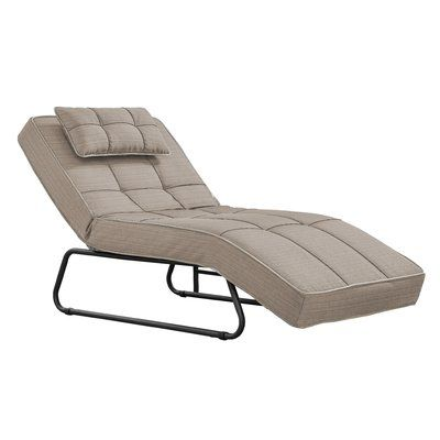 Latitude Run Andrew Outdoor Convertible Chaise Lounge with