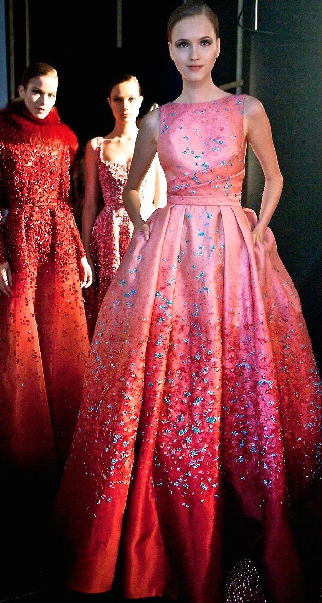 Yo me volvería a casar de rojo con este modelo de Elie Saab | moda ...
