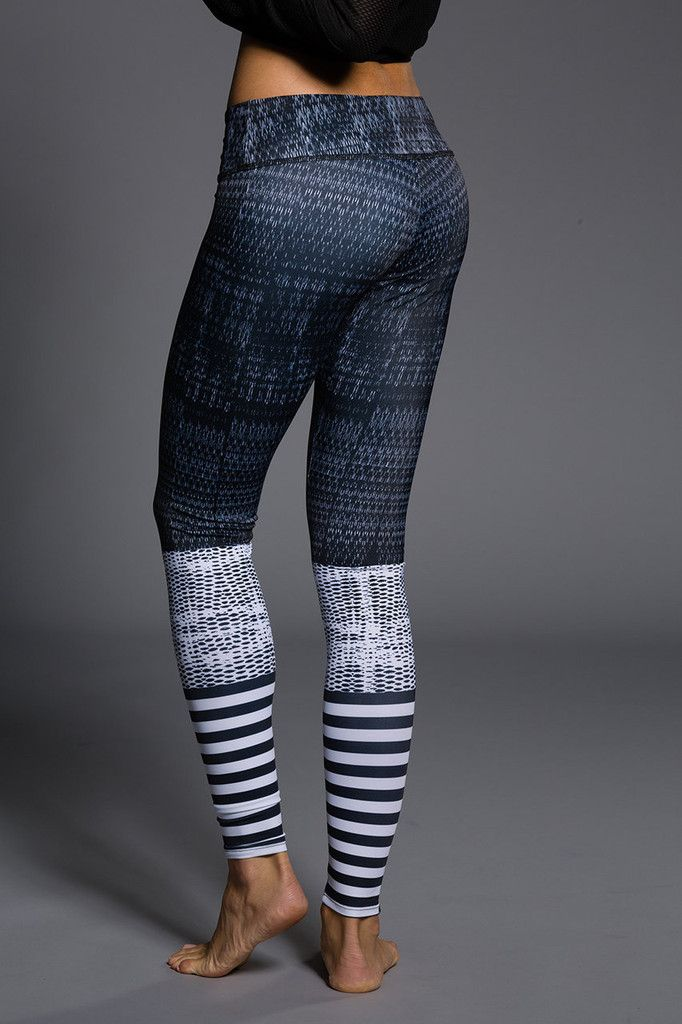 Onzie Graphic Legging - Levels are custom made and are truly statement pieces.