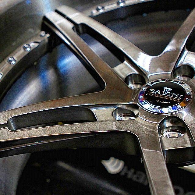 savini SV10 BS1 wheels brushed
