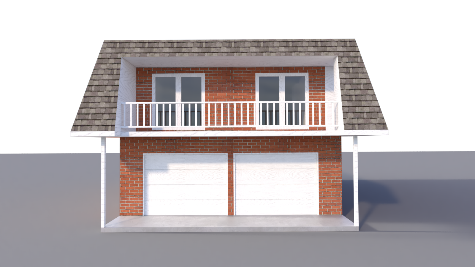 Two Car Garage Apartment Plans DIY 2 Bedroom Coach ...
