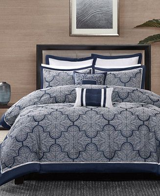 Shop Madison Park Medina 8-Pc. King Comforter Set online at Macys.com. Add luxe ...