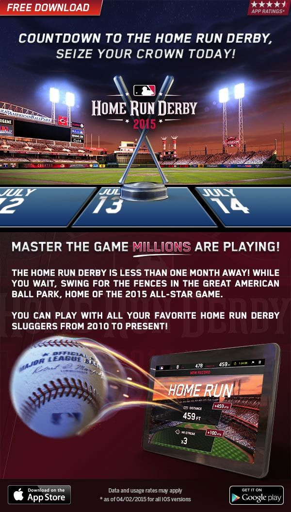 New Home Run Derby app from MLB surprised that it's not